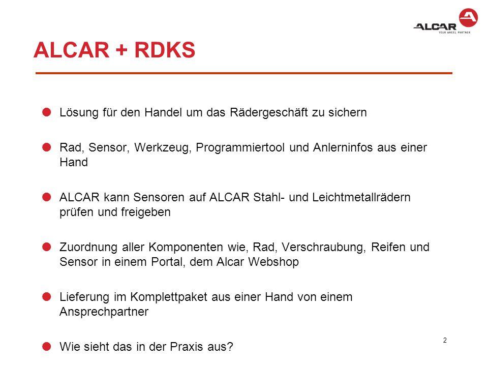 Welches RDKS System ist verbaut.