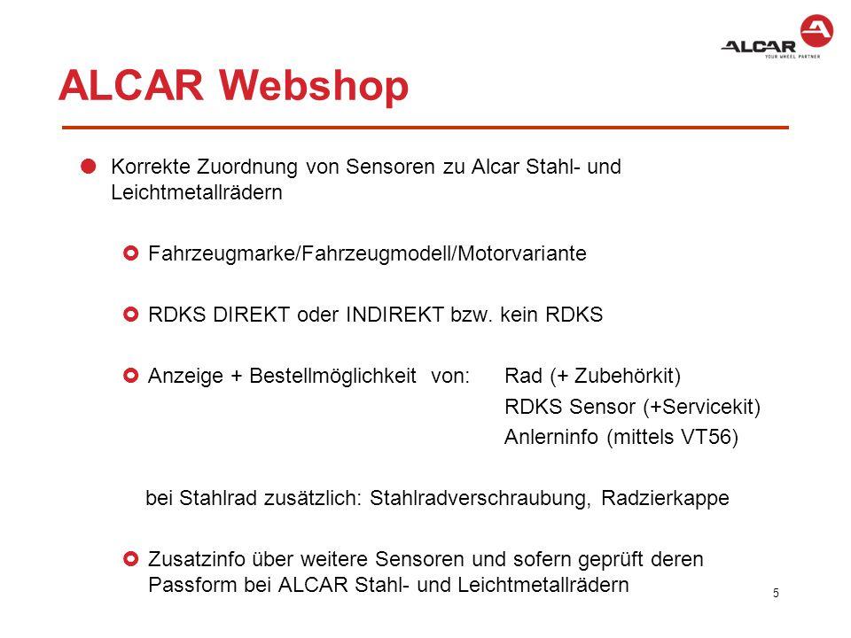 ALCAR Webshop 6