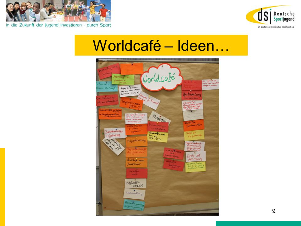 Worldcafé Gewinnung 10