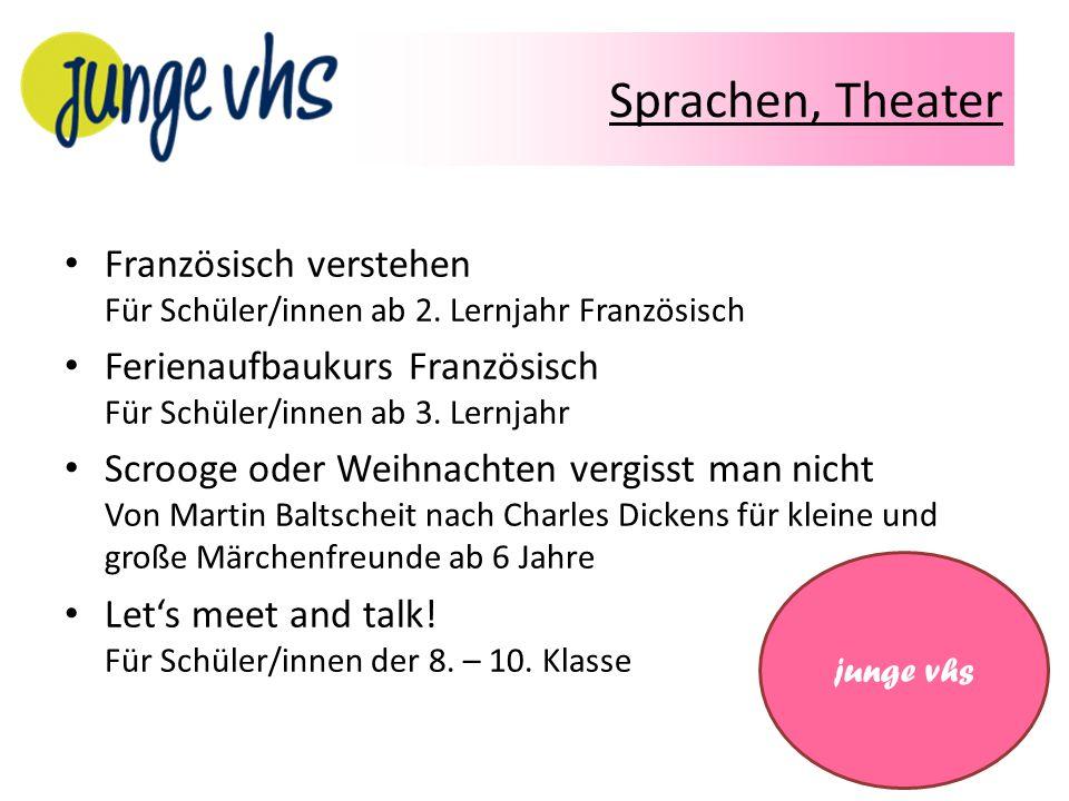 Modellieren, Deutsch Modellieren mit Ton Für Kinder (8 – 12 Jahre) Deutsch Intensivkurs am Nachmittag – Anfänger ohne Vorkenntnisse – A2 – Fortgeschrittene – B1 – Fortgeschrittene junge vhs