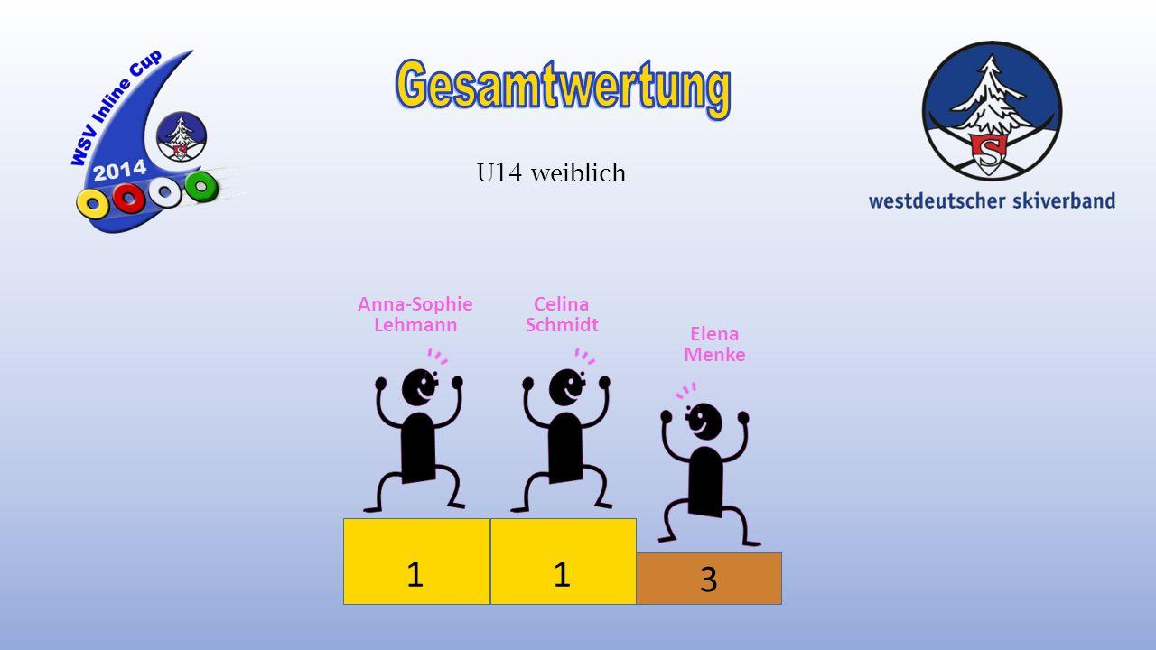 1 3 2 Niklas Hinz Lukas Hofrichter Felix Spanke U12 männlich