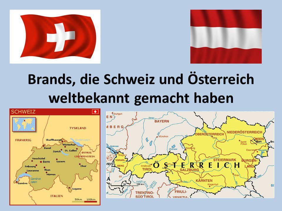 Brands, die Schweiz und Österreich weltbekannt gemacht haben