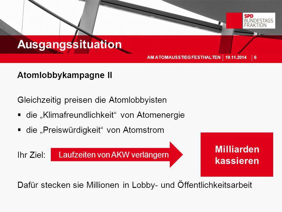 """Atomlobbykampagne II Gleichzeitig preisen die Atomlobbyisten  die """"Klimafreundlichkeit"""" von Atomenergie  die """"Preiswürdigkeit"""" von Atomstrom Ihr Zie"""