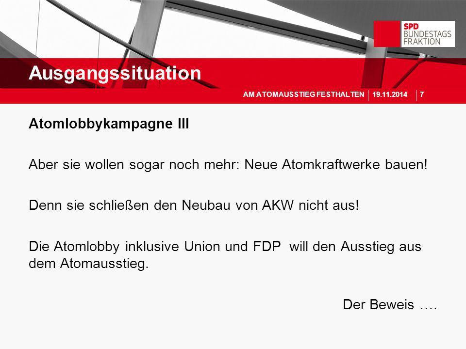 """Anzeige des Informationskreises Kernenergie in """"DIE ZEIT vom 22."""