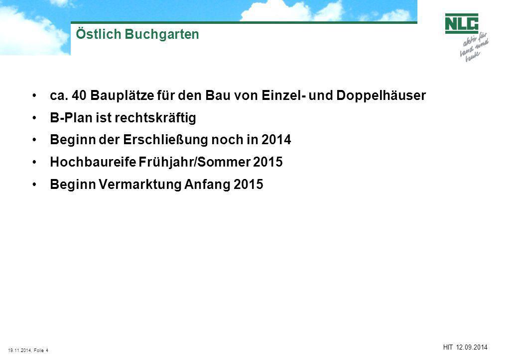 19.11.2014, Folie4 HIT 12.09.2014 Östlich Buchgarten ca.