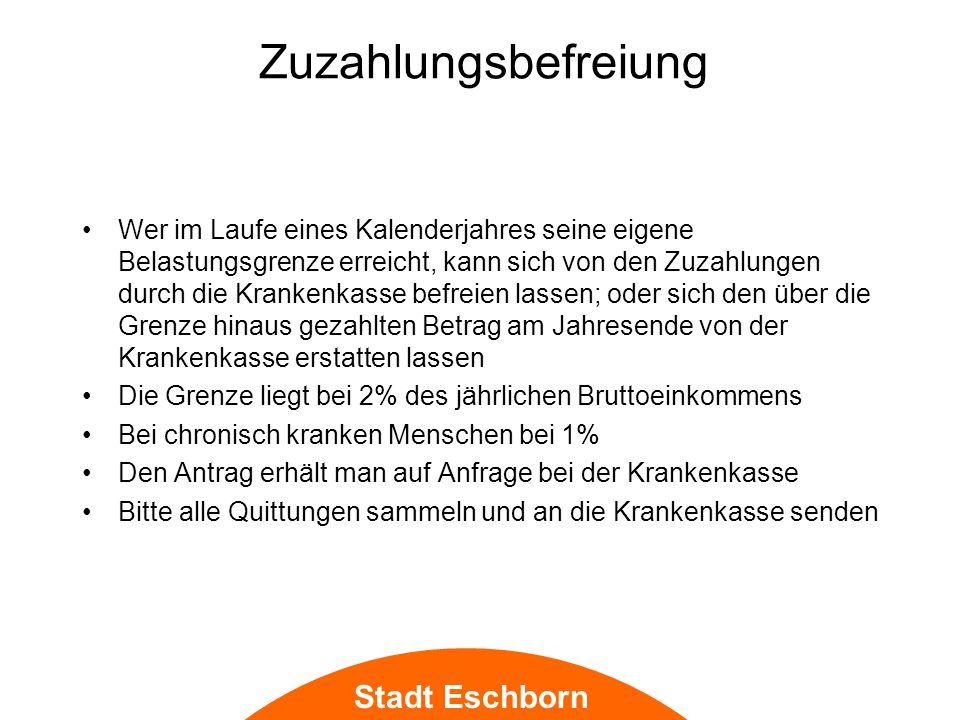 Stadt Eschborn Bauliche Veränderung