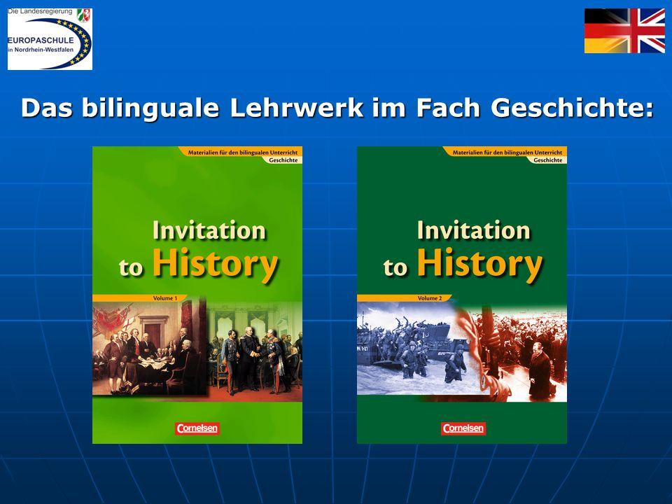 Das bilinguale Lehrwerk im Fach Geschichte: