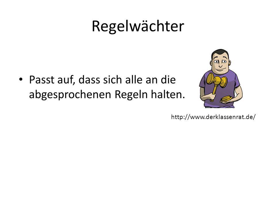 Regelwächter http://www.derklassenrat.de/