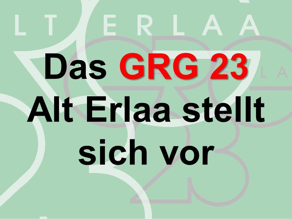 GRG23 Das GRG23 gibt es 25 seit 25 Jahren!