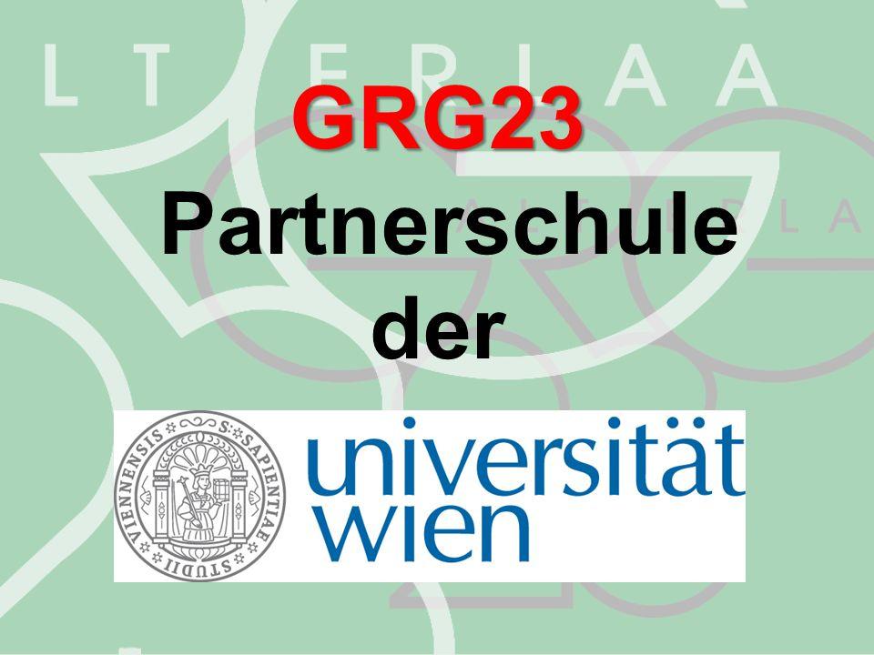 Gymnasium Schwerpunkt: Sprachenerwerb GRG23 Schulformen am GRG23 3.