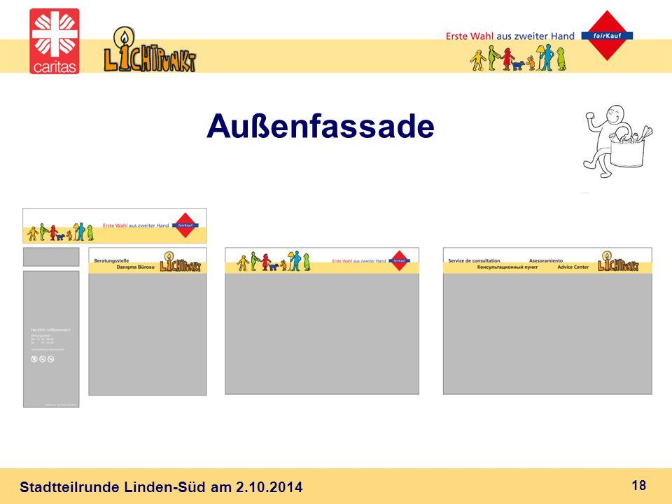 Stadtteilrunde Linden-Süd am 2.10.2014 Außenfassade 18