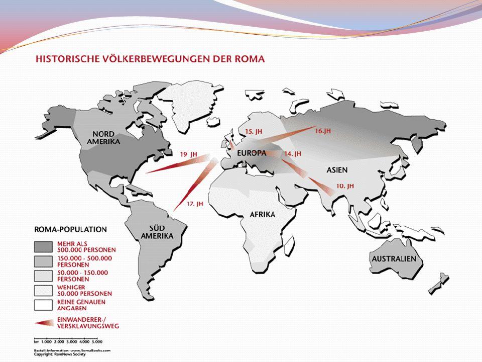 Aufbruch nach Europa Sinti und Roma zogen vor 1000 Jahren nach Europa ein Sinti im heutigen Westeuropa, Roma in Ost und Südosteuropa 18.