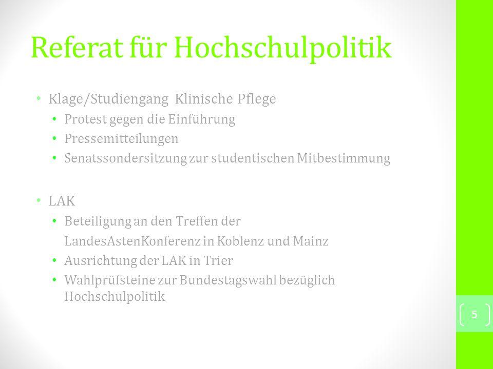 Referat für Antirassismus und Antifaschismus 16 16.