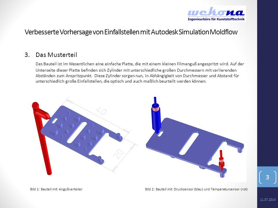 4 4.Das Werkzeug Das Werkzeug wurde in Autodesk Moldflow komplett vernetzt.
