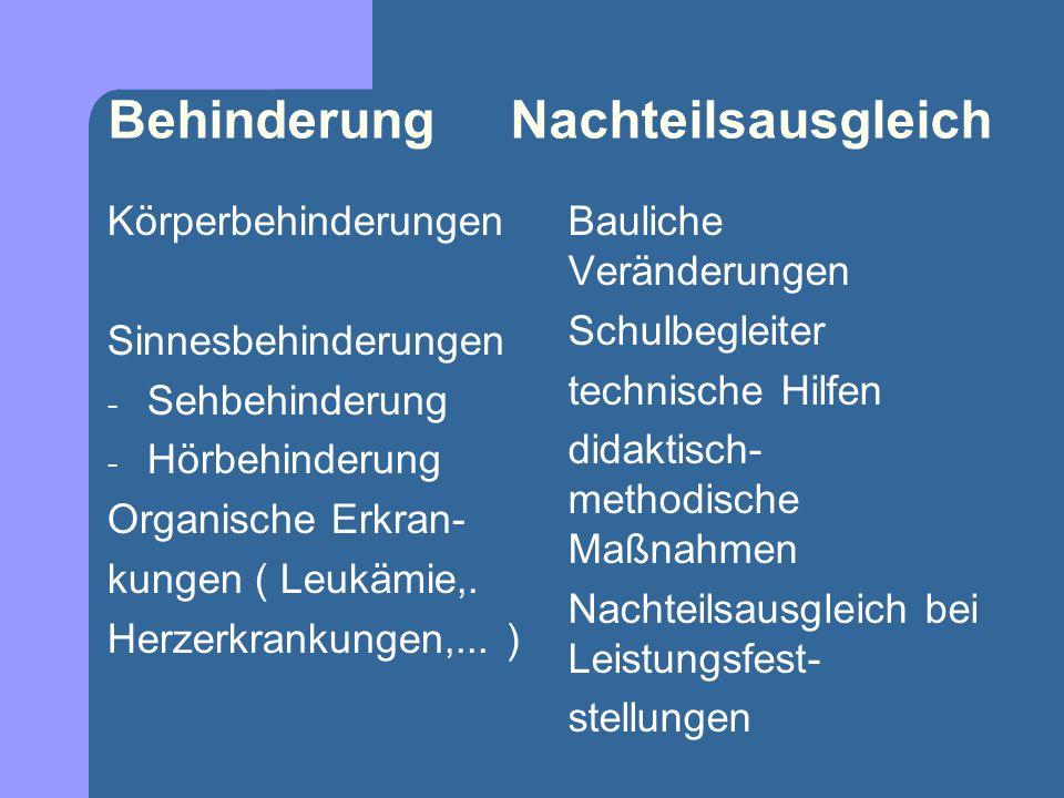 INKLUSION AM GYMNASIUM Erfahrungen aus der Praxis Behörden und Organisationen Schulbegleiter Schulbegleiter Schulbegleiter (Individualbegleiter) sind eine Maßnahme der Eingliederung (  Eingliederungshilfe nach § 54 Abs.