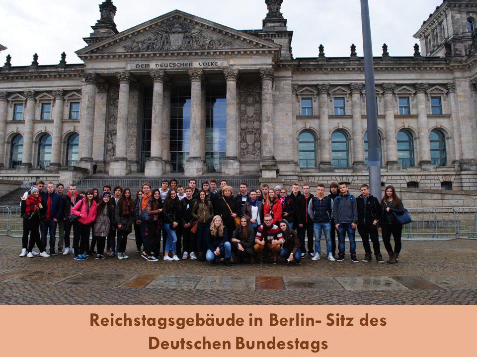 Reichstagsgebäude in Berlin- Sitz des Deutschen Bundestags