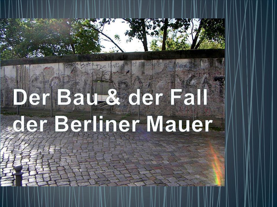 Am 17.Oktober wird Honecker abgesetzt.