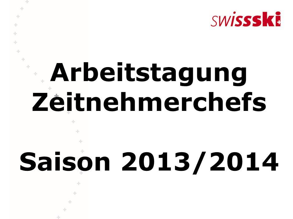 Arbeitstagung Zeitnehmerchefs Saison 2013/2014
