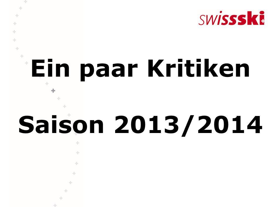 Ein paar Kritiken Saison 2013/2014