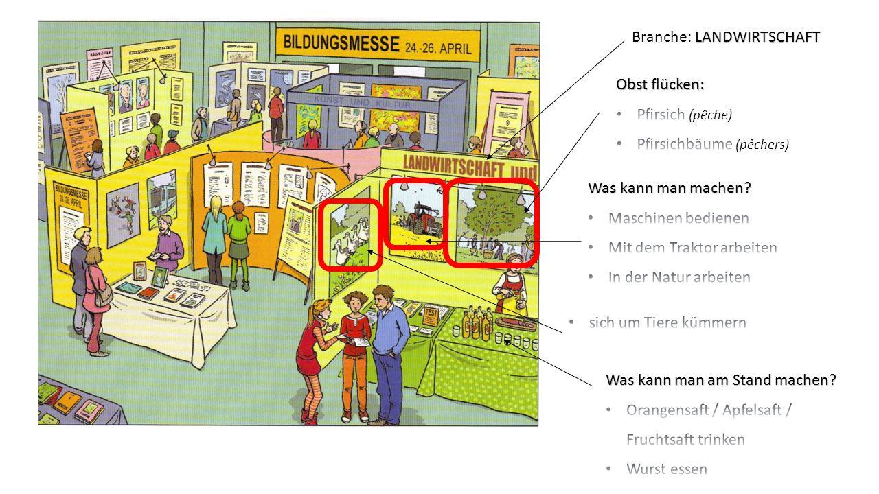 LANDWIRTSCHAFT Branche: LANDWIRTSCHAFT