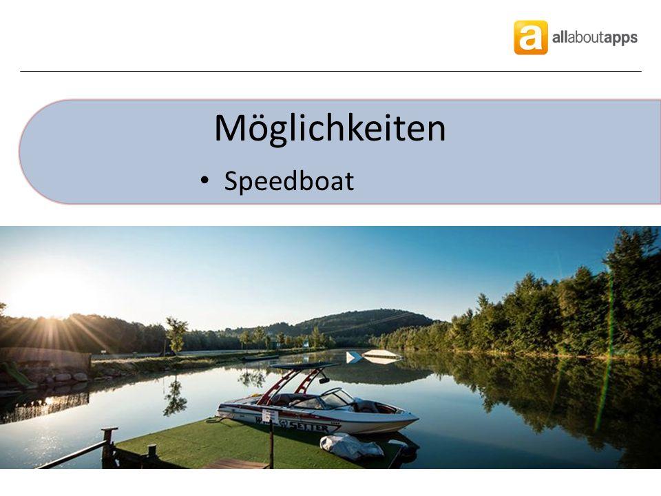 Möglichkeiten Speedboat