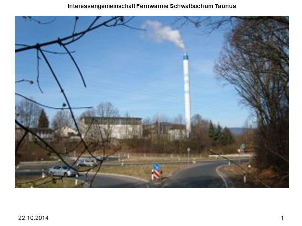 Interessengemeinschaft Fernwärme Schwalbach am Taunus 22.10.20141