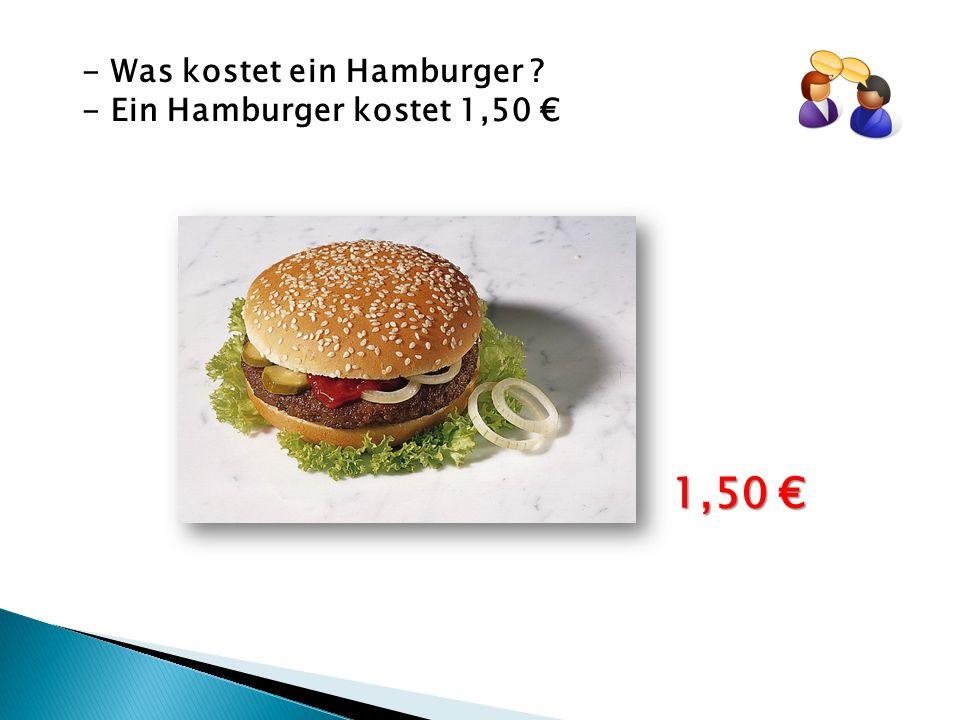 - Was kostet ein Schaschlick ? - Ein Schaschlick kostet 2 € 2 €