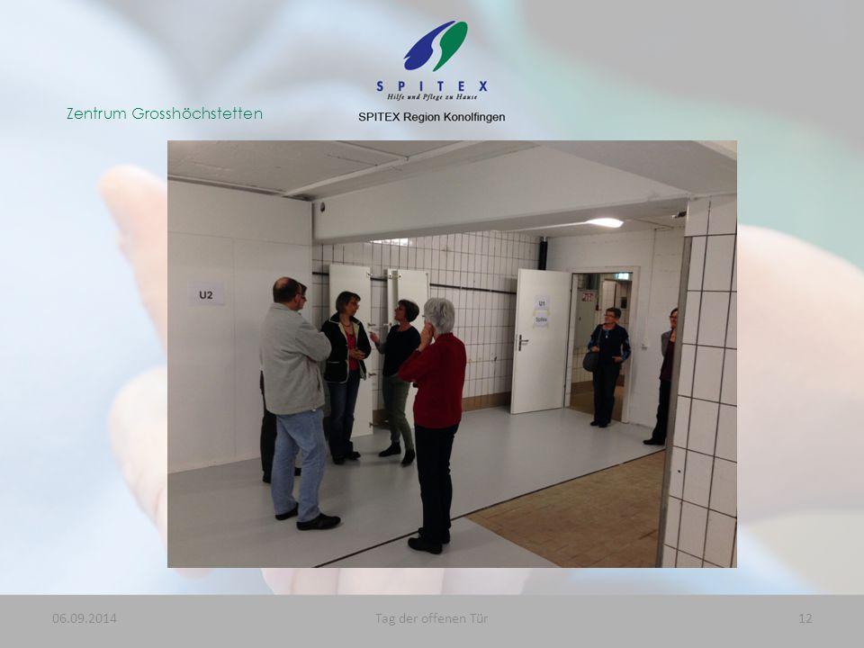 Zentrum Grosshöchstetten 06.09.201412Tag der offenen Tür