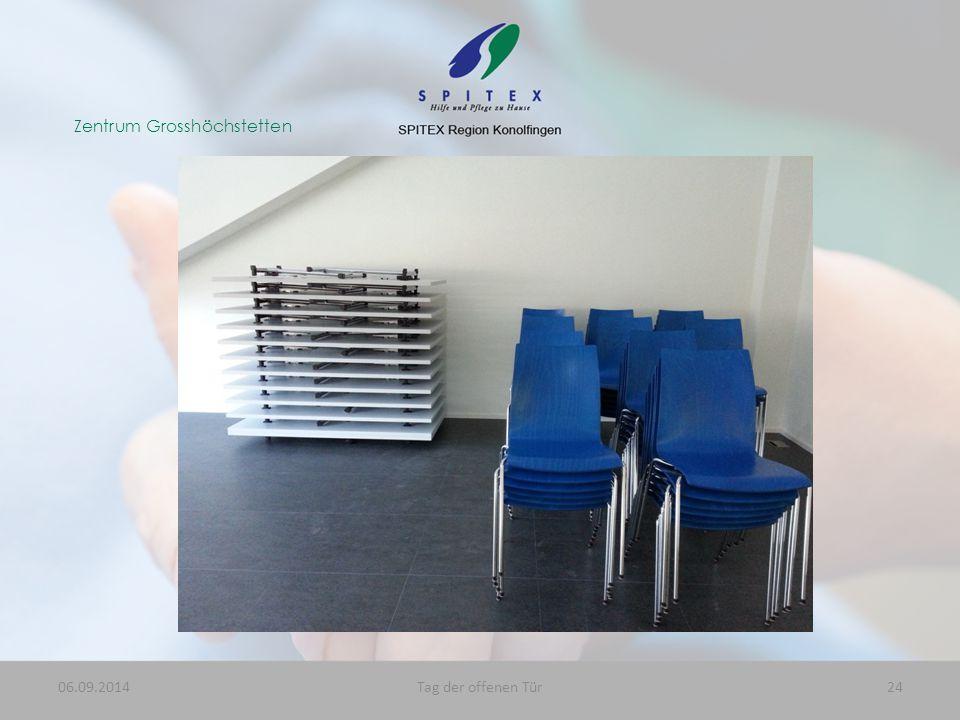 Zentrum Grosshöchstetten 06.09.201424Tag der offenen Tür