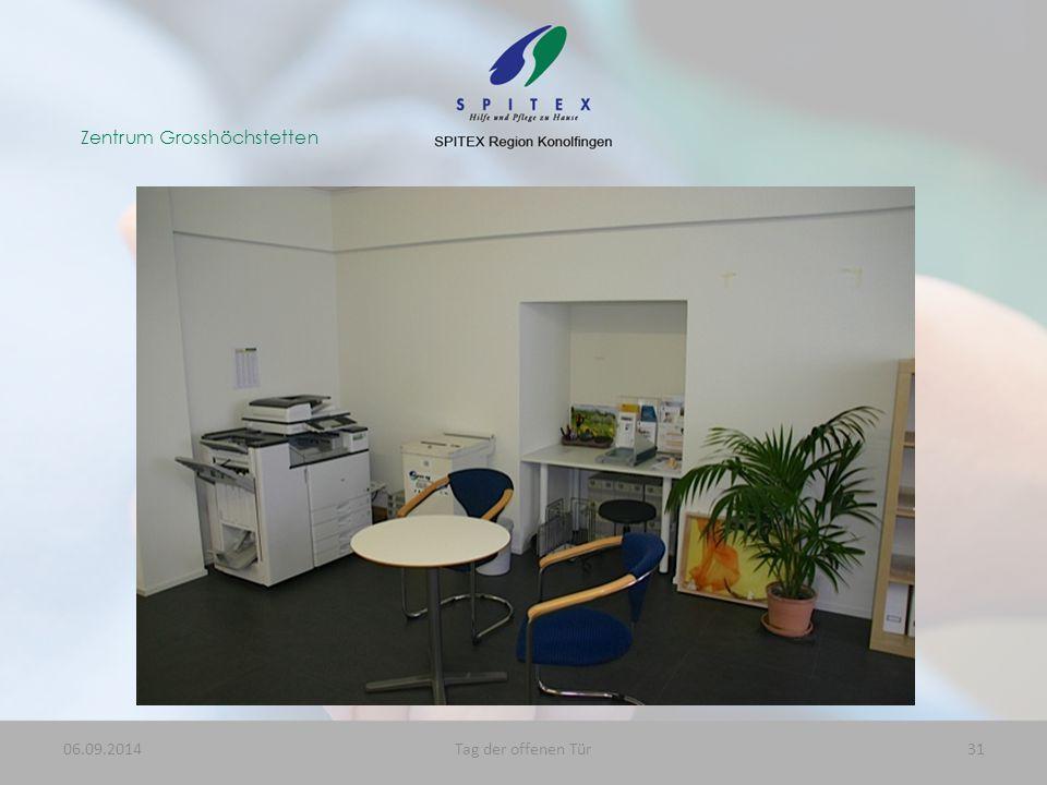 Zentrum Grosshöchstetten 06.09.201431Tag der offenen Tür