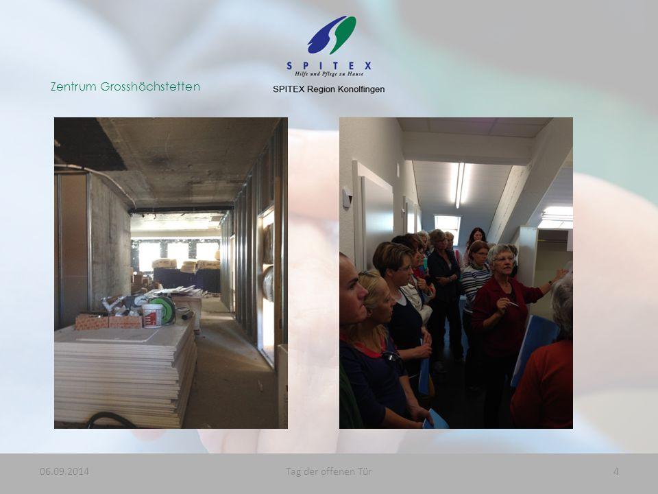 Zentrum Grosshöchstetten 06.09.20144Tag der offenen Tür