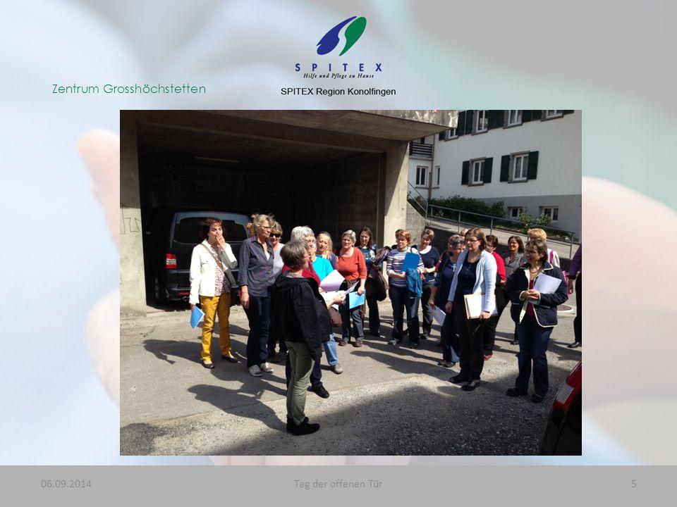 Zentrum Grosshöchstetten 06.09.20145Tag der offenen Tür