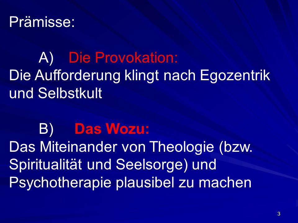 4 I – Theologiegeschichtliche Sondierungen