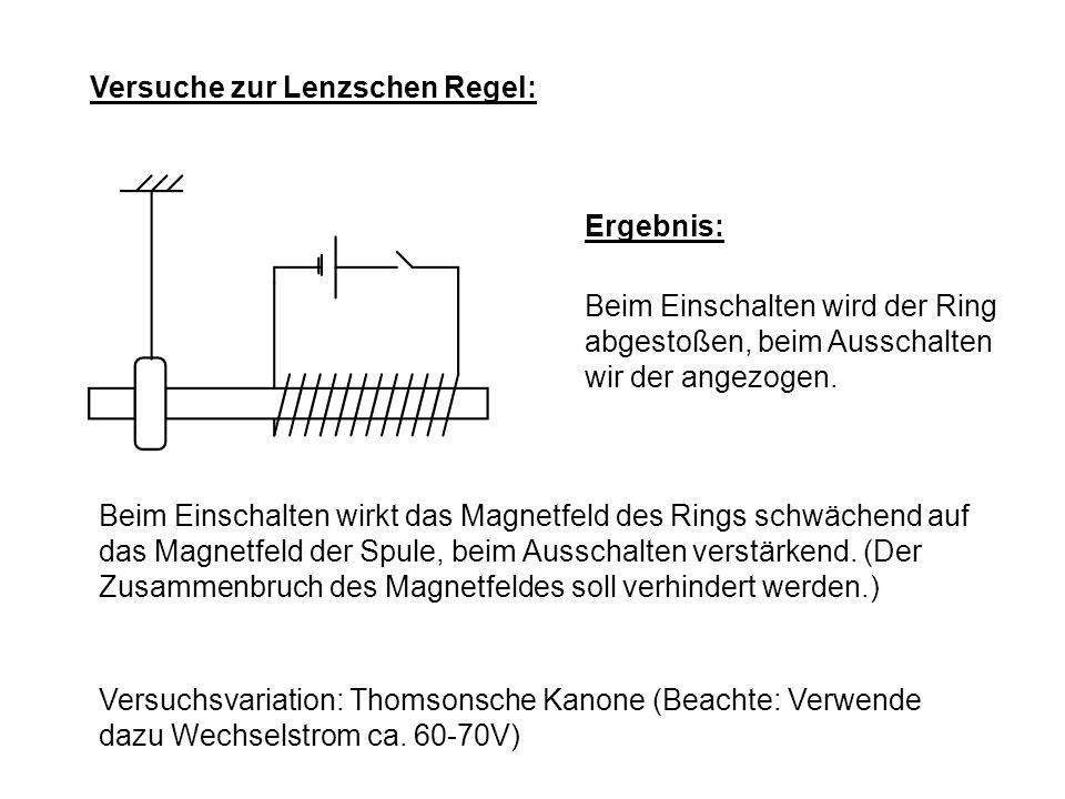 17.1.1 Anwendungen der Induktion: Erarbeite die Anwendungen aus dem Buch (BW 7) S.