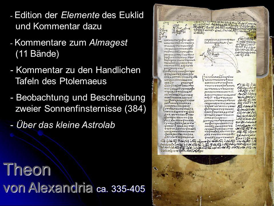 Theon von Alexandria ca.