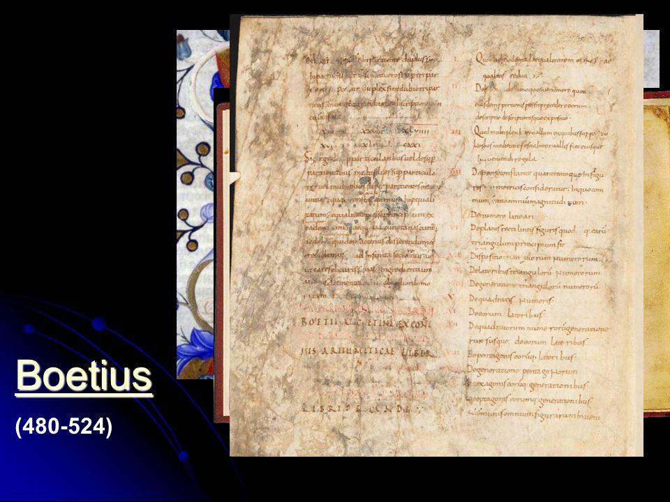 Boetius (480-524)