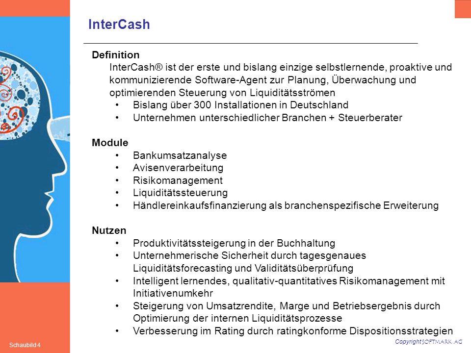 Copyright SOFTMARK AG Schaubild 15 Backtesting/ Validitätsprüfung