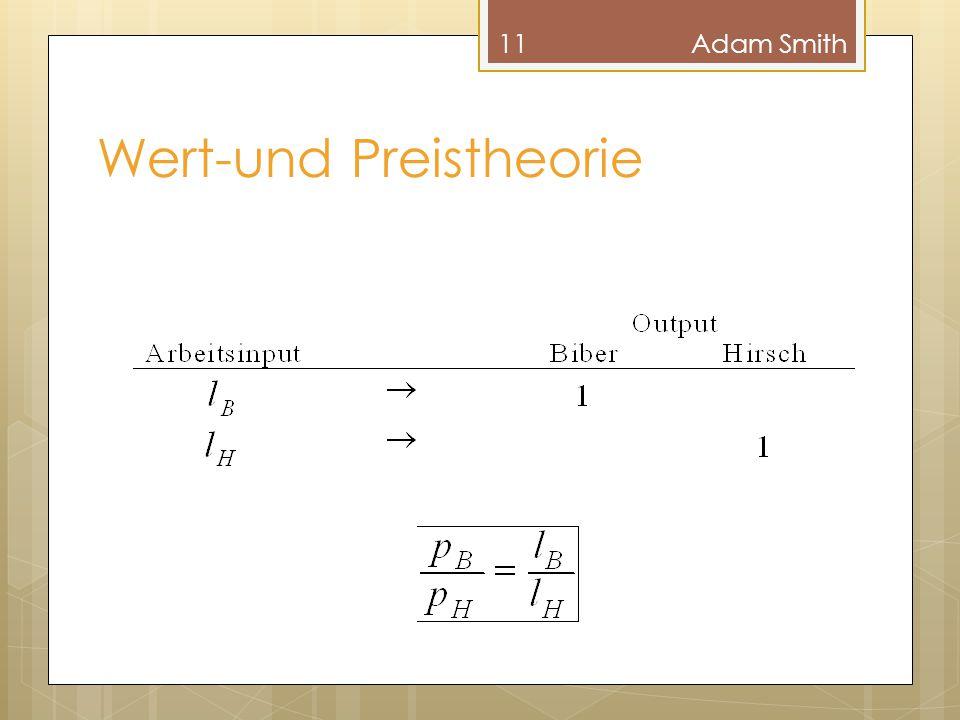 Wert-und Preistheorie 11Adam Smith
