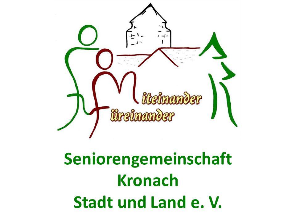 Die Seniorengemeinschaft = Selbsthilfeeinrichtung der Bürgerinnen und Bürger Wir organisieren Hilfe für Ältere und nutzen dabei gleichzeitig das Potential älterer Menschen