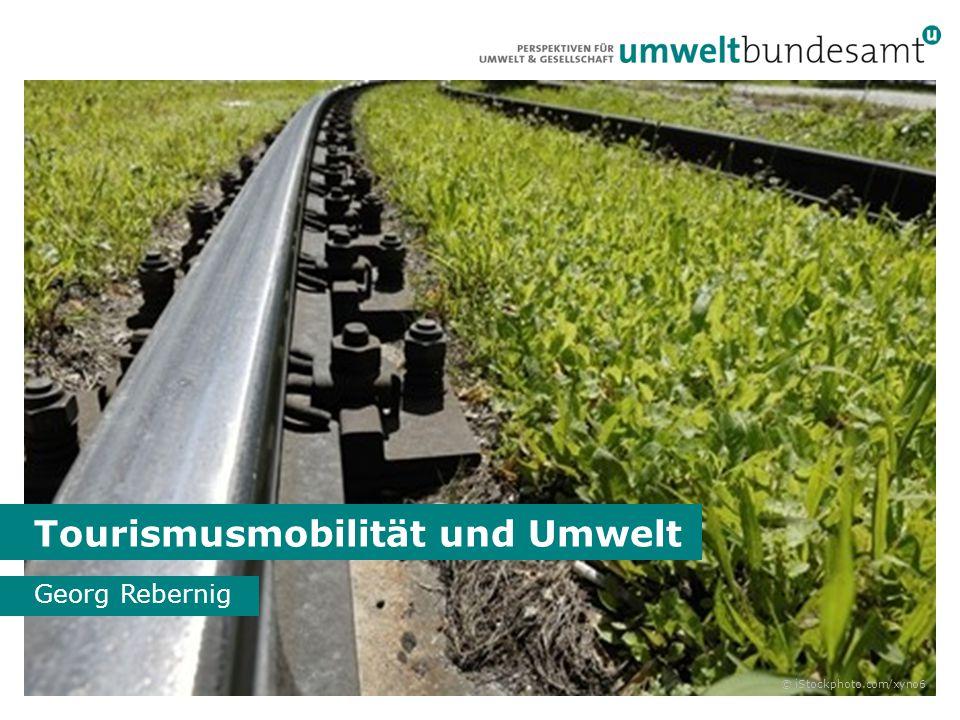 Tourismusverkehr ist nicht nachhaltig © Umweltbundesamt 2013 Quelle: T-Mona, 2007