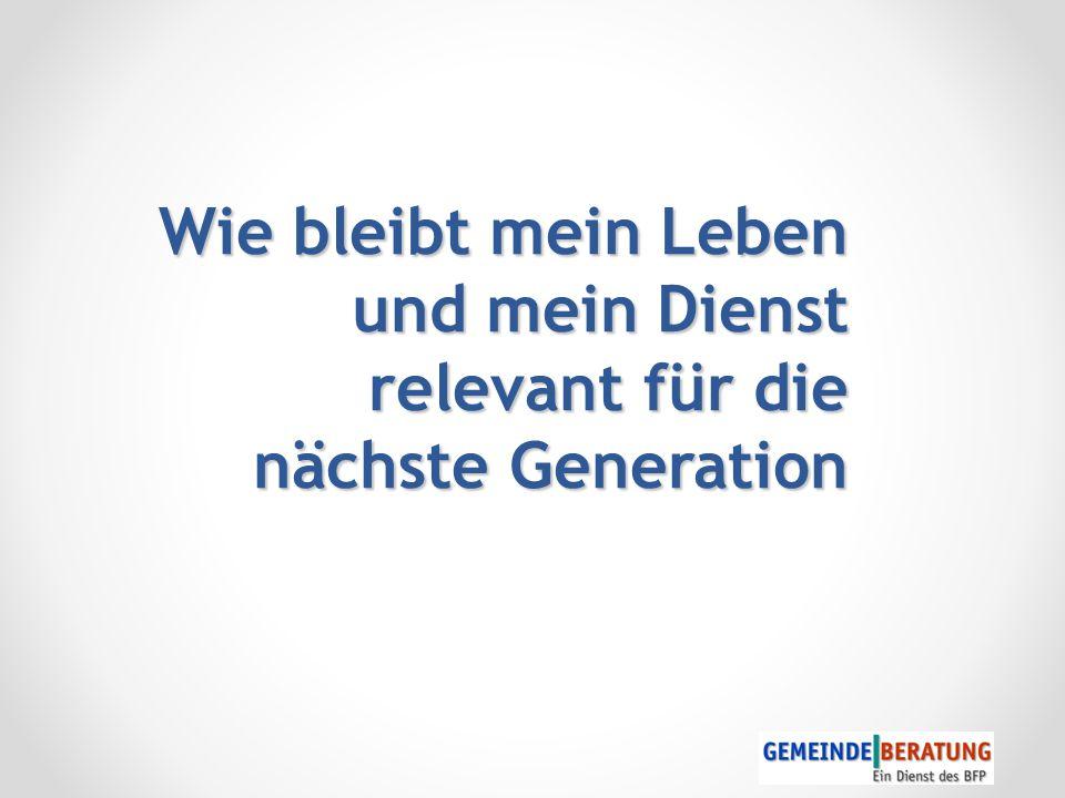 "Generation ""Gold : Wir leben länger... Was fangen wir damit an?"