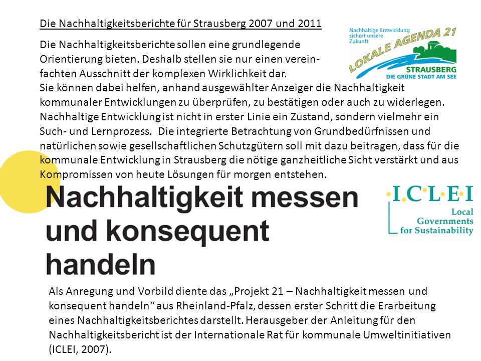 """Als Anregung und Vorbild diente das """"Projekt 21 – Nachhaltigkeit messen und konsequent handeln"""" aus Rheinland-Pfalz, dessen erster Schritt die Erarbei"""
