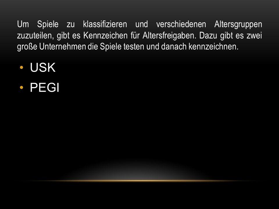 USK ist das meist verbreitete Spielprüfungskennzeichen auf der Welt.