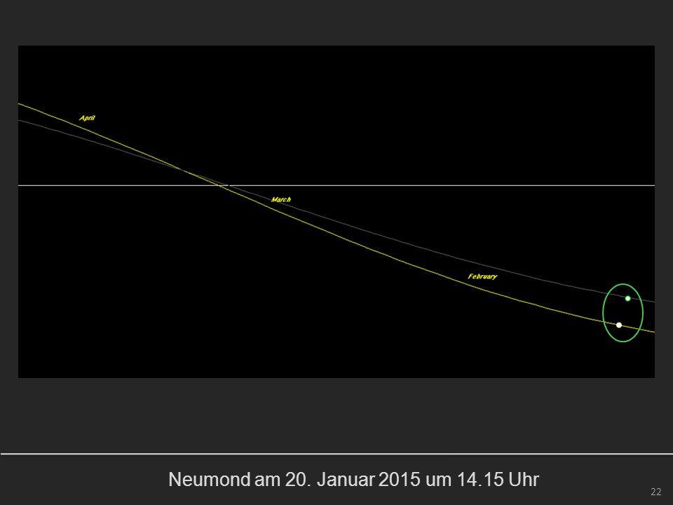 Neumond am 20. Januar 2015 um 14.15 Uhr 22