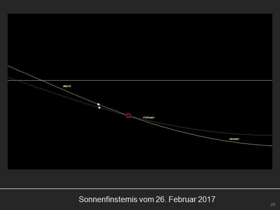 Sonnenfinsternis vom 26. Februar 2017 29