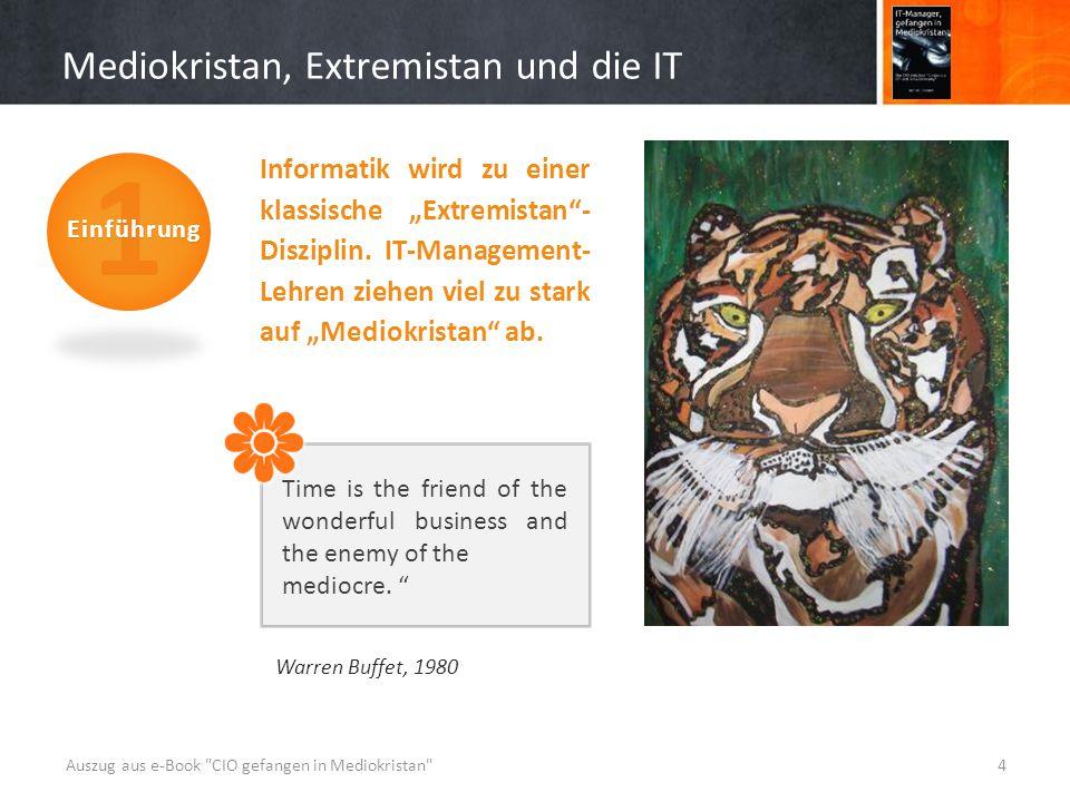 """Mediokristan, Extremistan und die IT Warren Buffet, 1980 Informatik wird zu einer klassische """"Extremistan - Disziplin."""