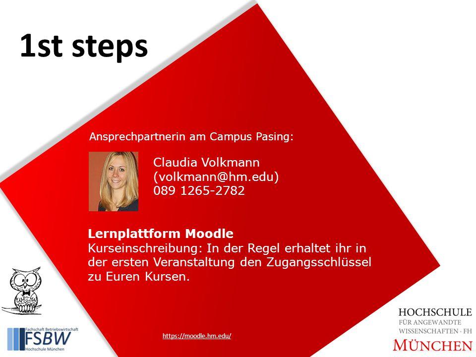 Lernplattform Moodle Kurseinschreibung: In der Regel erhaltet ihr in der ersten Veranstaltung den Zugangsschlüssel zu Euren Kursen.