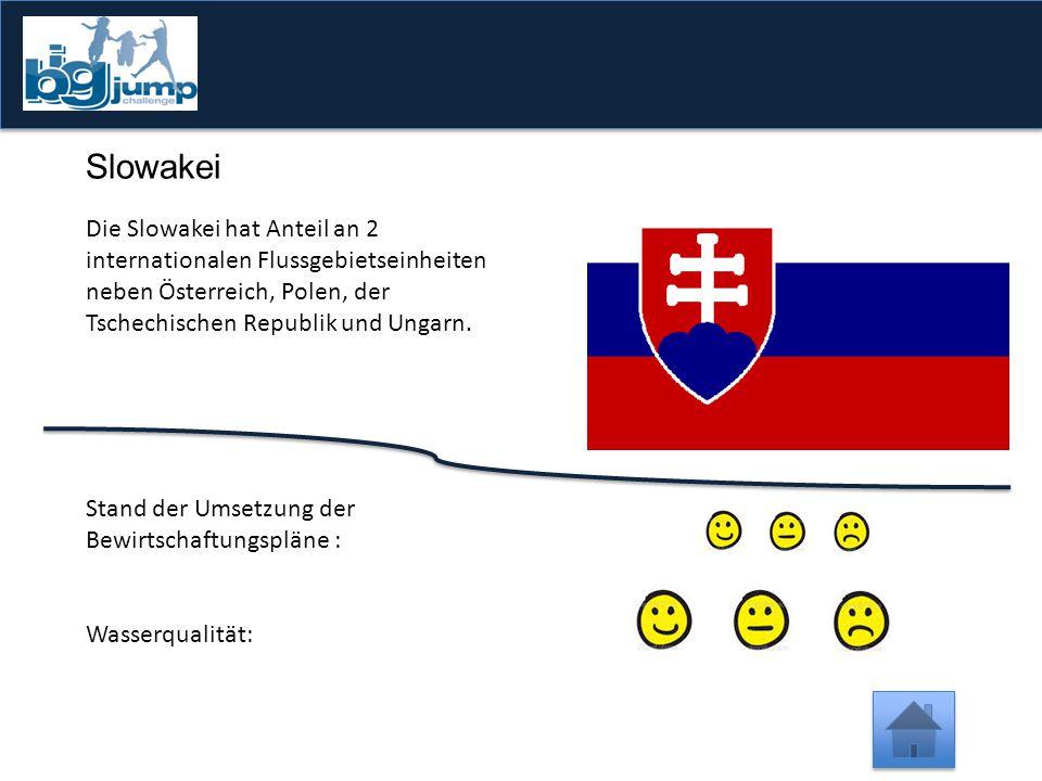 -1 Punkt Vergesst nicht, hier zu klicken  Es sind 132 Oberflächengewässer in Slowenien beschrieben.