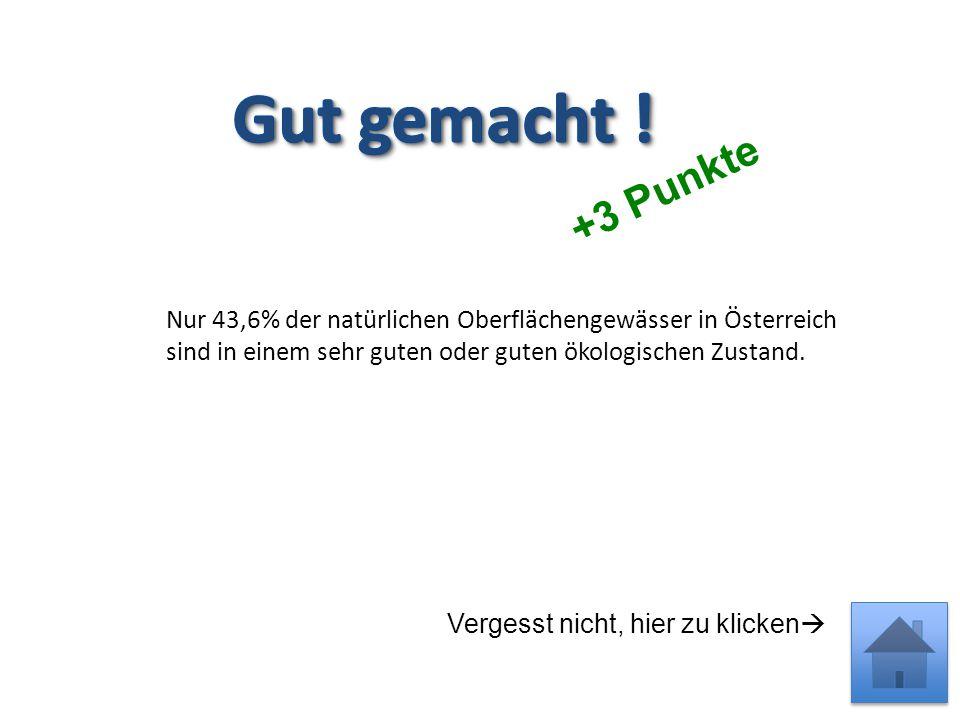 -1 Punkt Vergesst nicht, hier zu klicken  Österreich verabschiedete die Bewirtschaftungspläne für Donau, Elbe und Rhein im März 2010.