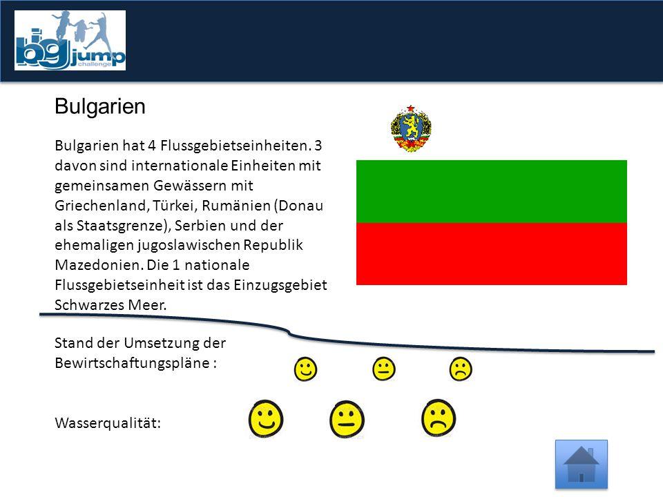 -1 Punkt Vergesst nicht, hier zu klicken  Nur 43,6% der natürlichen Oberflächengewässer in Österreich sind in einem sehr guten oder guten ökologischen Zustand.